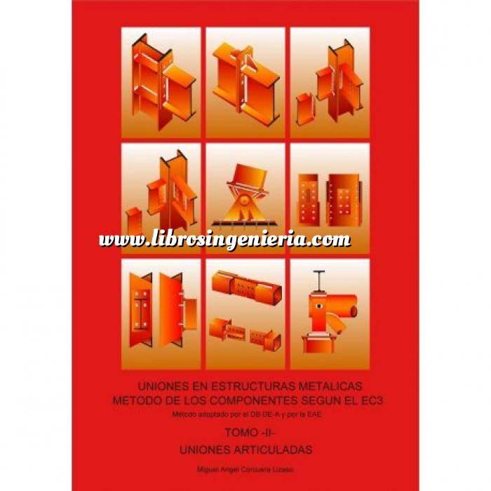 Imagen Estructuras metálicas Uniones articuladas.Uniones en estructuras metalicas.Metodo de los componentes según el EC3