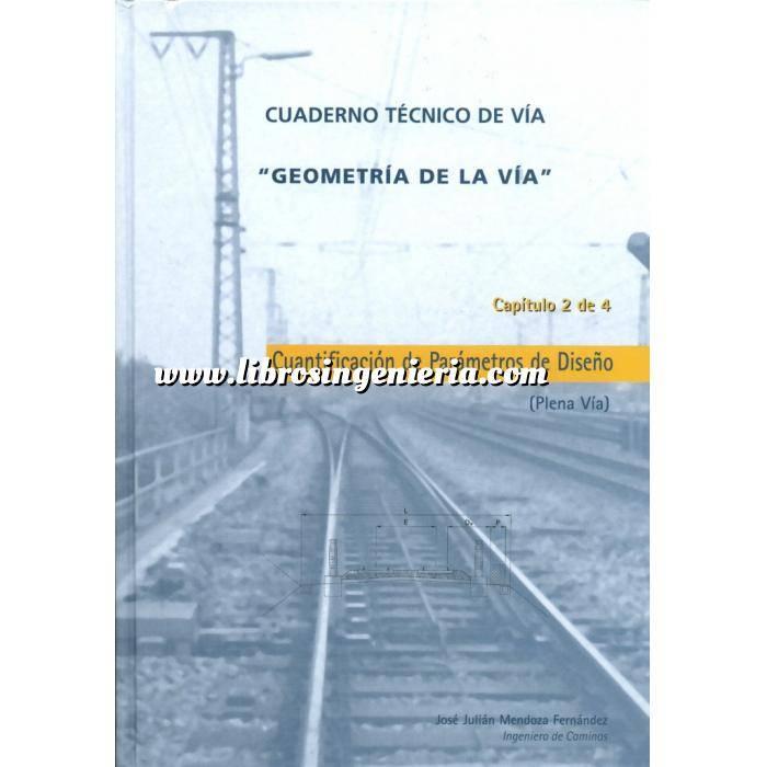 Imagen Ferrocarriles Geometria de la via.Cuantificación de parámetros de diseño (Plena Vía)
