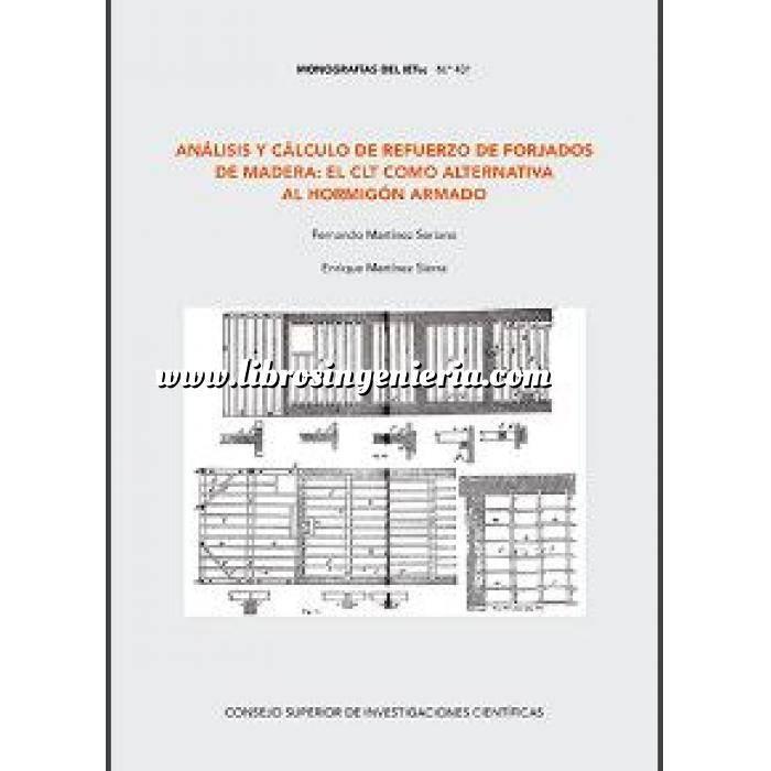 Imagen Forjados Análisis y cálculo de refuerzo de forjados de madera:el CLT como alternativa al hormigón armado