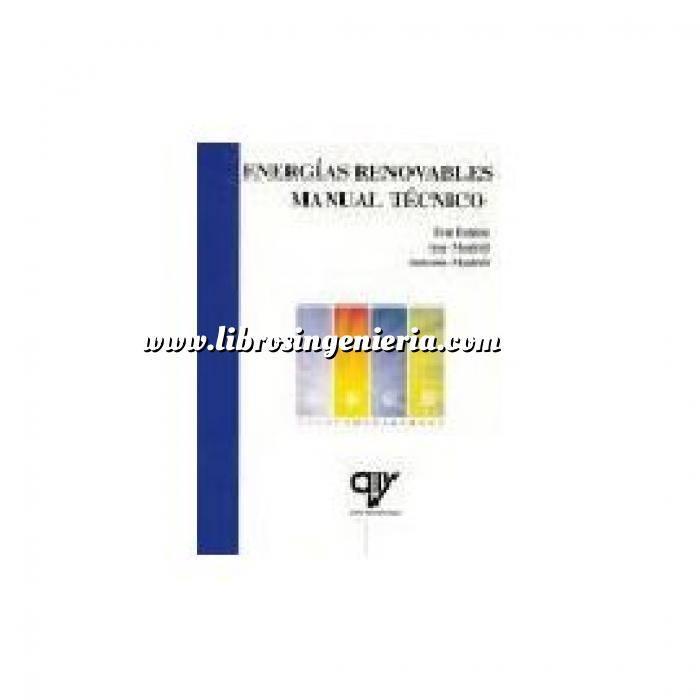 Imagen General Energías renovables. Manual técnico