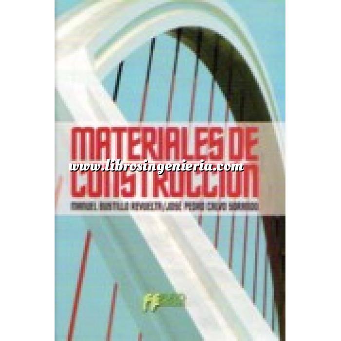 Imagen General Materiales de construcción   Libro en soporte PDF