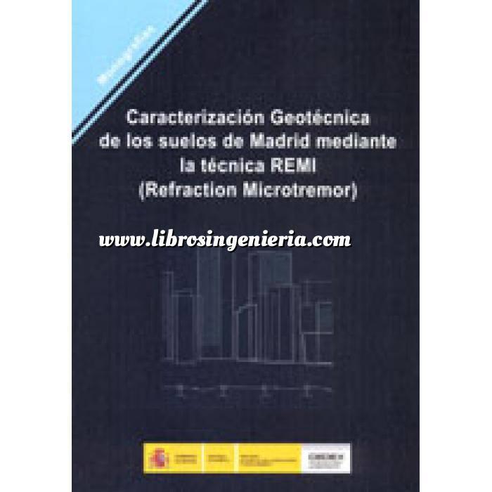 Imagen Geotecnia  Caracterización geotécnica de los suelos de Madrid mediante la técnica REMI (Refraction Microtremor).