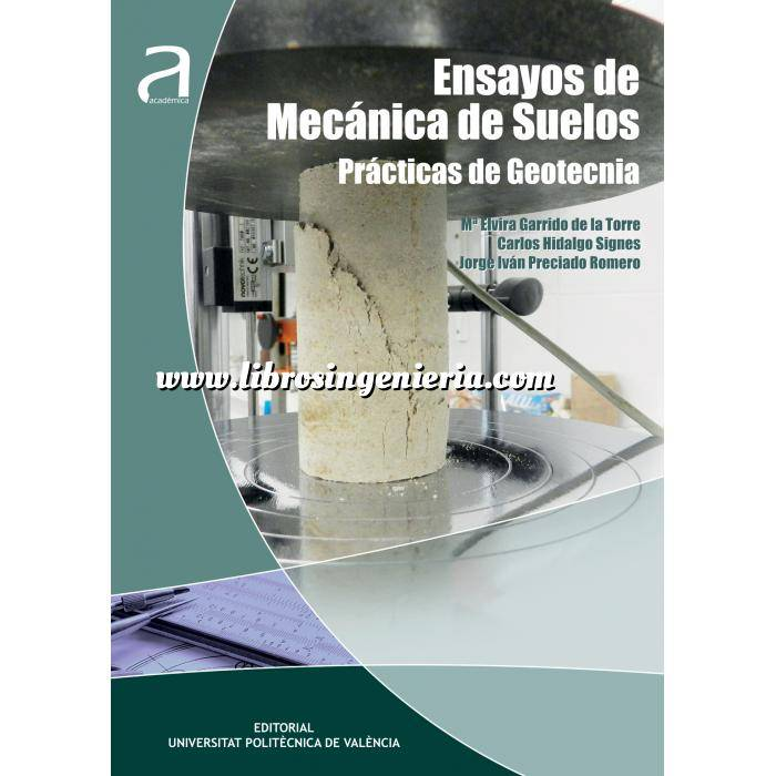 Imagen Geotecnia  Ensayos de Mecánica de Suelos.Practicas de Geotecnia
