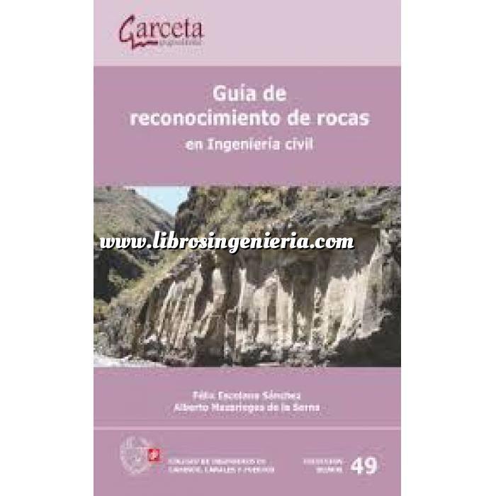 Imagen Geotecnia  Guía de reconocimiento de rocas en Ingenieria civil