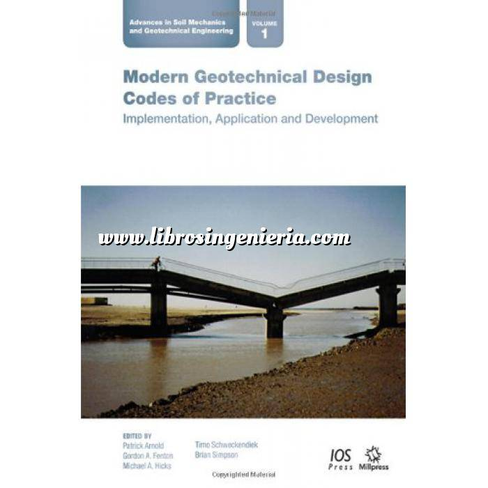 Imagen Geotecnia  Modern Geotechnical Design Codes of Prac (Advances in Soil Mechanics and Geotechnical Engineering