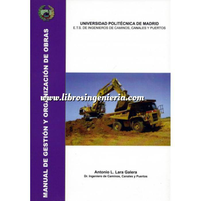 Imagen Gestion de proyectos Manual de gestión y organización de obras. Procedimientos generales de construcción