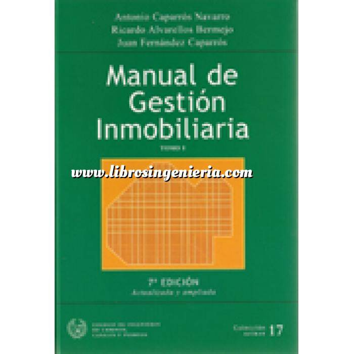 Imagen Gestión inmobiliaria Manual de gestión inmobiliaría. 2 Vol.