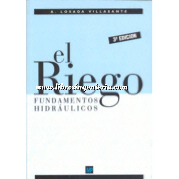 Imagen Hidráulica El riego.fundamentos hidráulicos