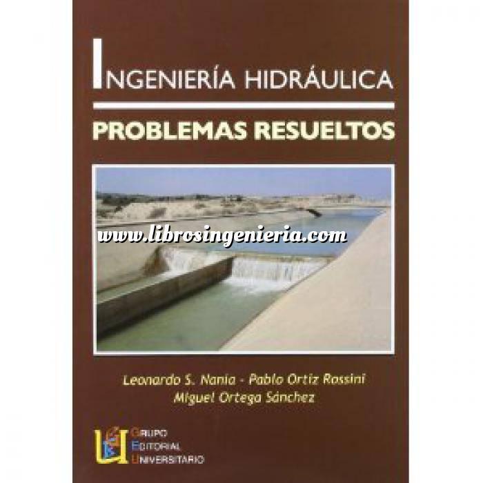 Imagen Hidráulica Ingenieria hidraulica. problemas resueltos