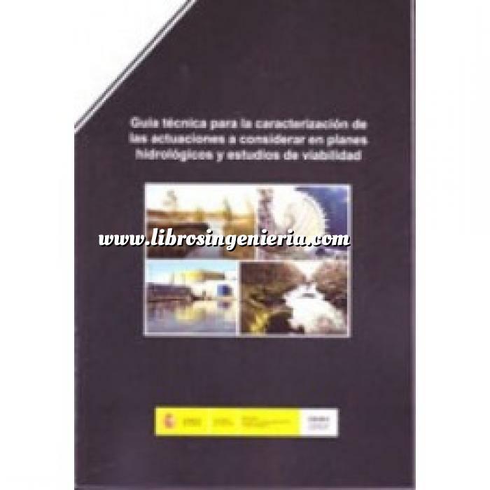 Imagen Hidrología Guía Técnica para la caracterización de las actuaciones a considerar en planes hidrologicos y estudios de viabilidad