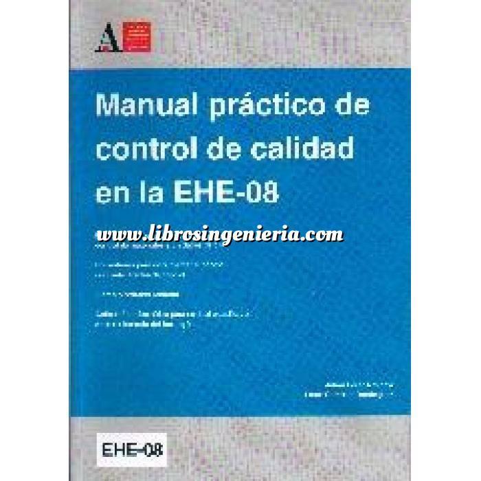Imagen Hormigón armado Manual práctico de control de calidad en la EHE-08