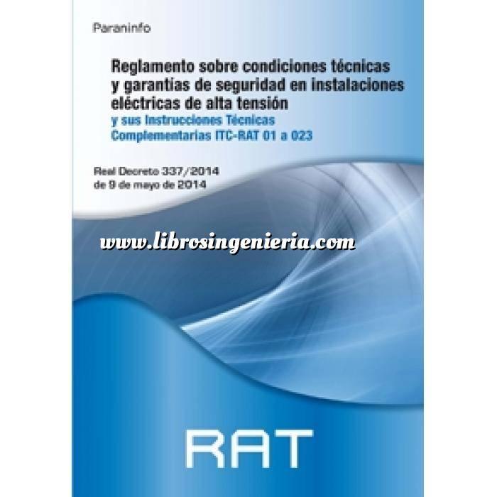 Imagen Instalaciones eléctricas de alta tensión RAT. Reglamento sobre condiciones técnicas y garantías de seguridad en instalaciones eléctricas de alta tensión