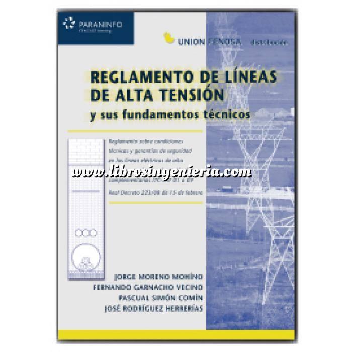 Imagen Instalaciones eléctricas de alta tensión Reglamento de líneas de alta tensión y sus fundamentos técnicos