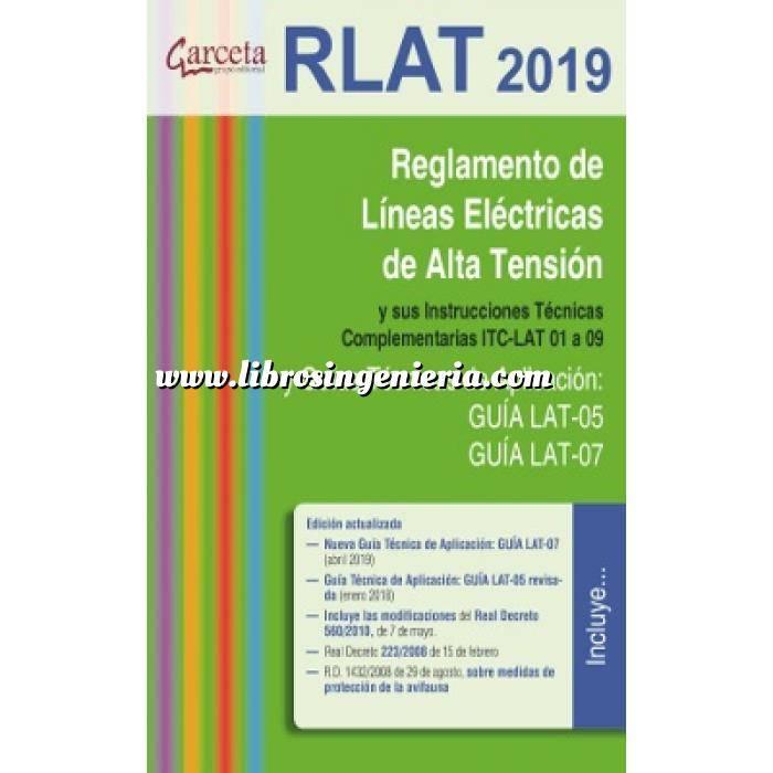 Imagen Instalaciones eléctricas de alta tensión Reglamento de líneas eléctricas de alta tensión. RLAT 2019.