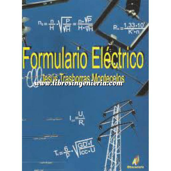 Imagen Instalaciones eléctricas de baja tensión Formulario electrico