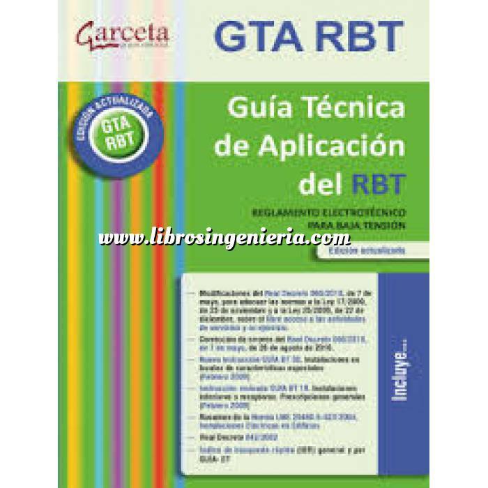 Imagen Instalaciones eléctricas de baja tensión Guía Técnica de aplicación del REBT Edicion 2013