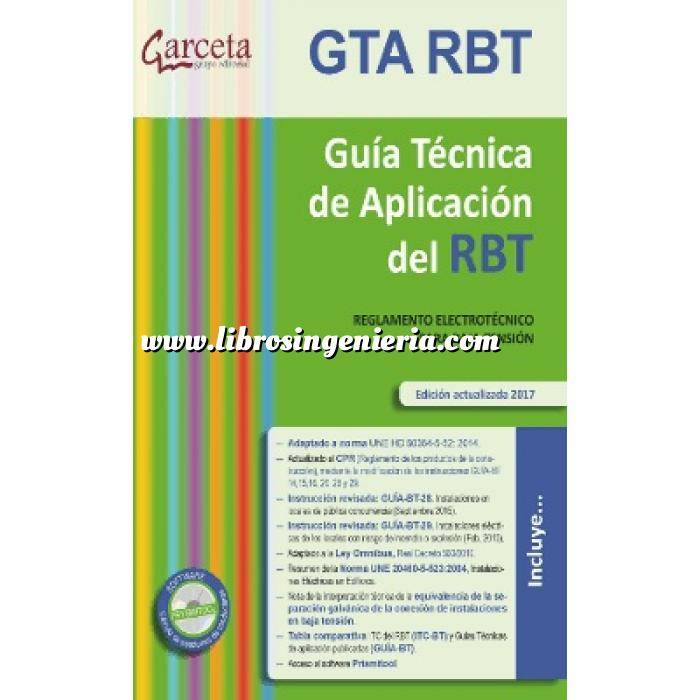 Imagen Instalaciones eléctricas de baja tensión Guía técnica de aplicación del RBT