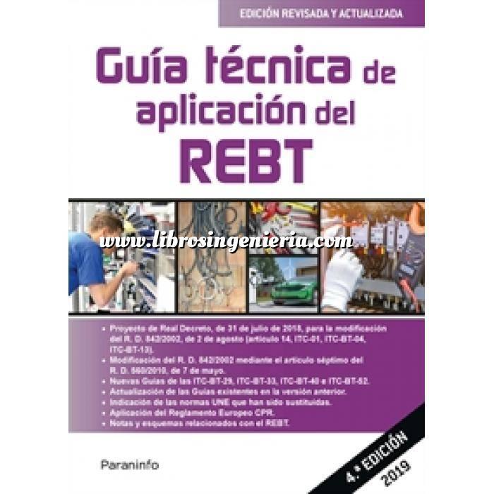 Imagen Instalaciones eléctricas de baja tensión Guía técnica de aplicación del REBT 4.ª edición 2019