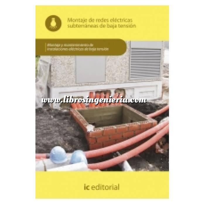 Imagen Instalaciones eléctricas de baja tensión Montaje de redes eléctricas subterráneas de baja tensión