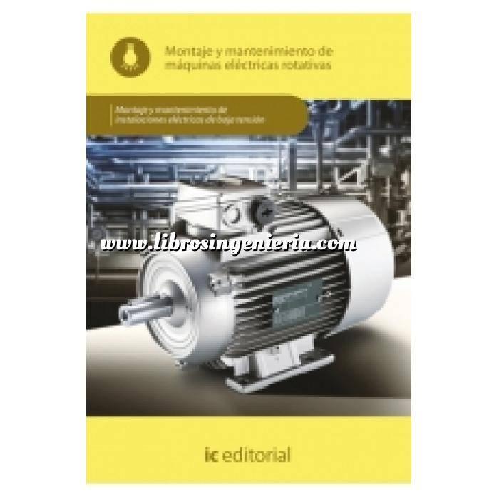 Imagen Instalaciones eléctricas de baja tensión Montaje y mantenimiento de máquinas eléctricas rotativas