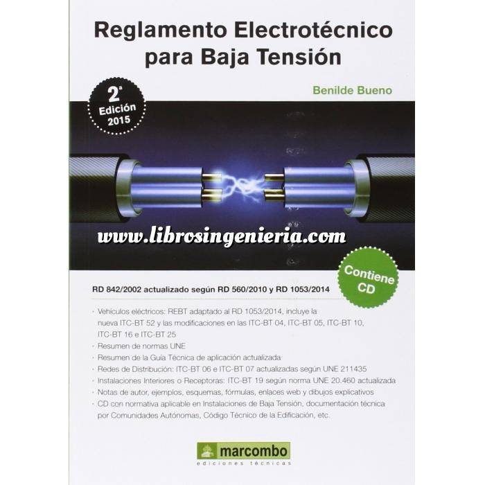 Imagen Instalaciones eléctricas de baja tensión Reglamento electrotecnico para baja tensión