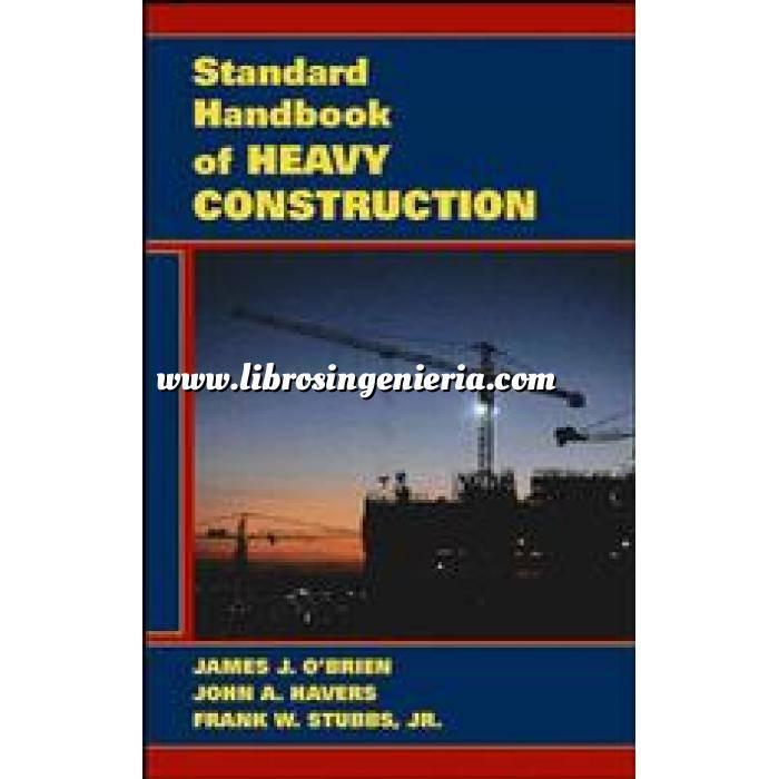 Imagen Maquinaria de obras publicas Standard handbook of heavy construction 3º ed.