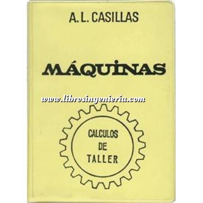 Imagen Maquinas y herramientas Maquinas. Cálculos de Taller