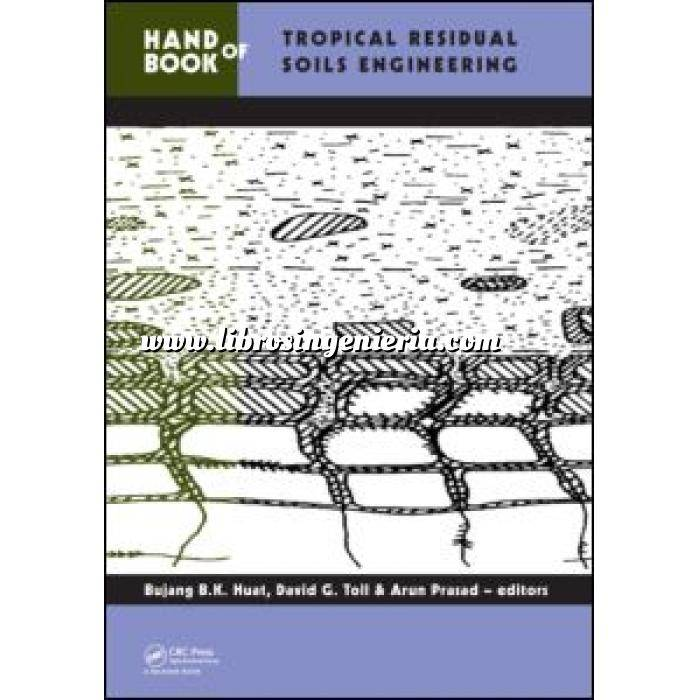 Imagen Mecánica del suelo Handbook of Tropical Residual Soils Engineering