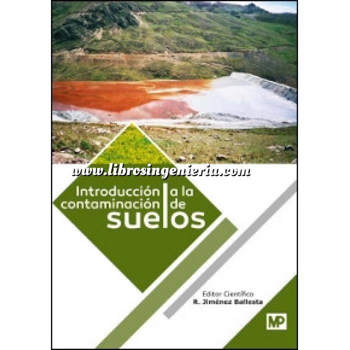 Imagen Mecánica del suelo Introducción a la contaminación de suelos
