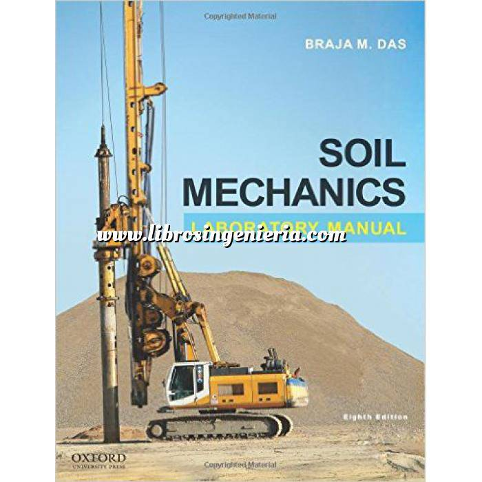 Imagen Mecánica del suelo Soil Mechanics Laboratory Manual
