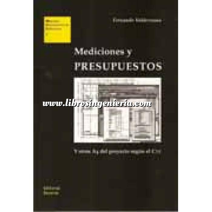Imagen Mediciones, presupuestación y cuadros de precios Mediciones y presupuestos : y otros A4 del proyecto según el CTE