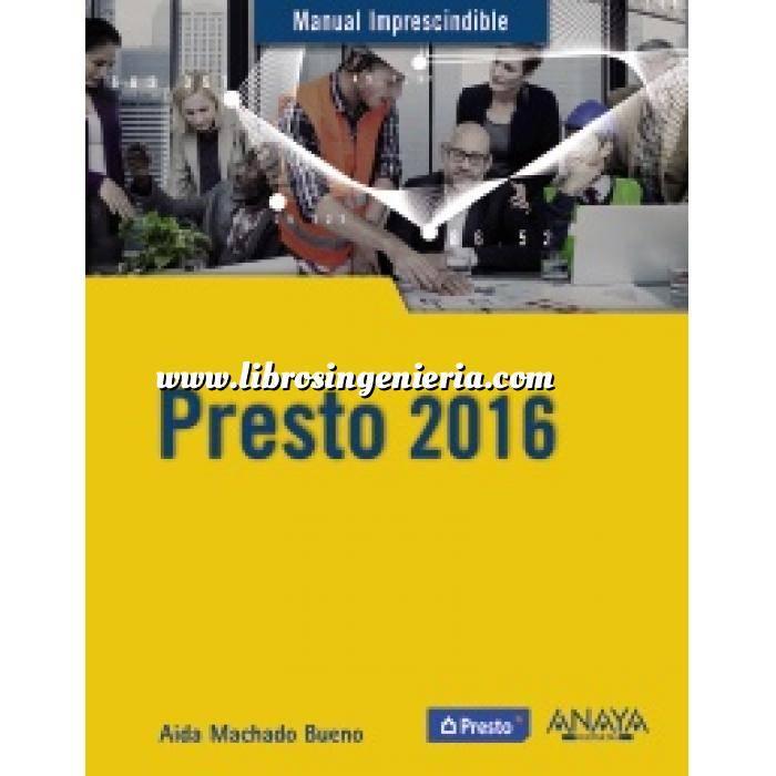 Imagen Mediciones, presupuestación y cuadros de precios Presto 2016