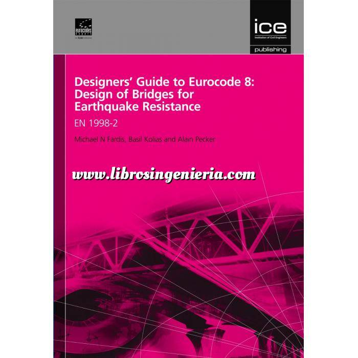 Imagen Normas UNE y eurocódigo Designers' Guide to Eurocode 8: Design of Bridges for Earthquake resistance