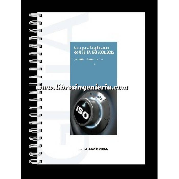 Imagen Normas UNE y eurocódigo Guía para la aplicación de UNE-EN ISO 9001:2005