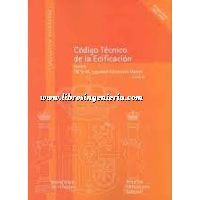 Imagen Normativa de construcción Código técnico de la edificación. (CTE) Parte II DB SE-.F, Seguridad Estructural: Fábrica Libro 5