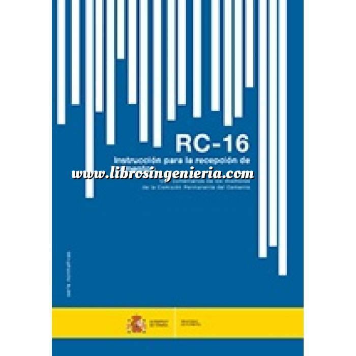 Imagen Normativa de construcción Instrucción para la recepción de cementos. RC-16