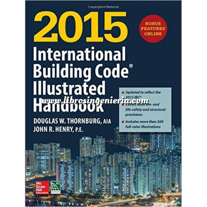 Imagen Normativa estructuras 2015 International Building Code Illustrated Handbook