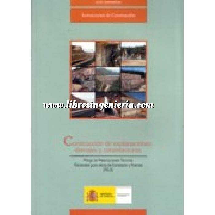 Imagen Normativa infraestructuras transporte Construcción de explanaciones drenajes y cimentaciones (PG-3)