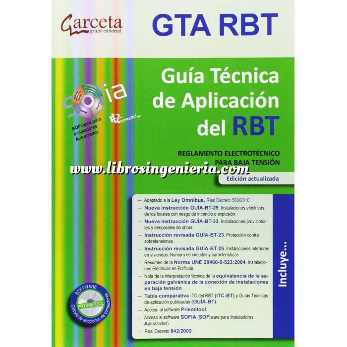 Imagen Normativa instalaciones Guía Técnica de Aplicación del REBT4E