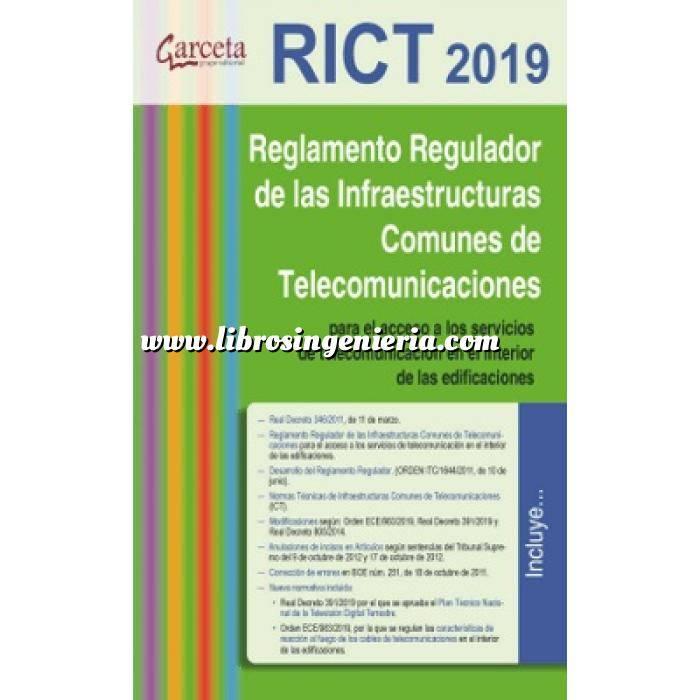 Imagen Normativa instalaciones Reglamento de Infraestructuras Comunes de Telecomunicación. RICT 2019