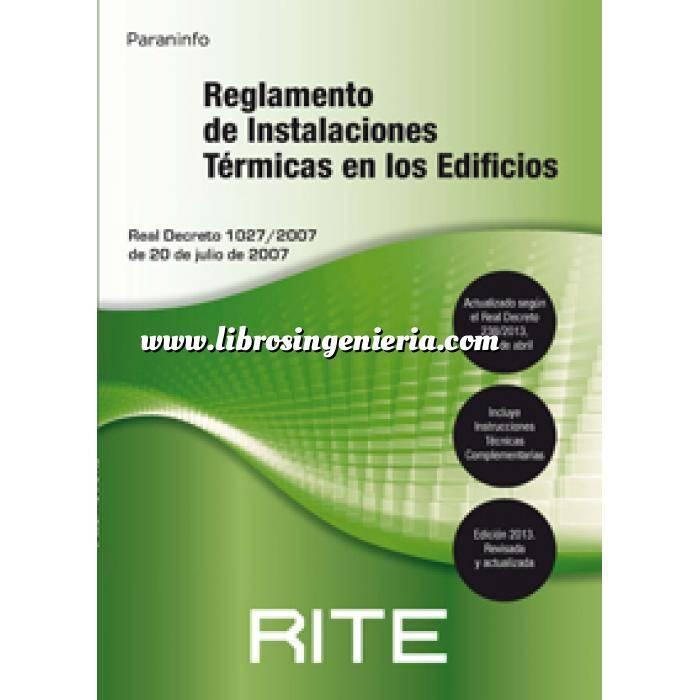 Imagen Normativa instalaciones Reglamento de instalaciones térmicas en los edificios RITE 2013