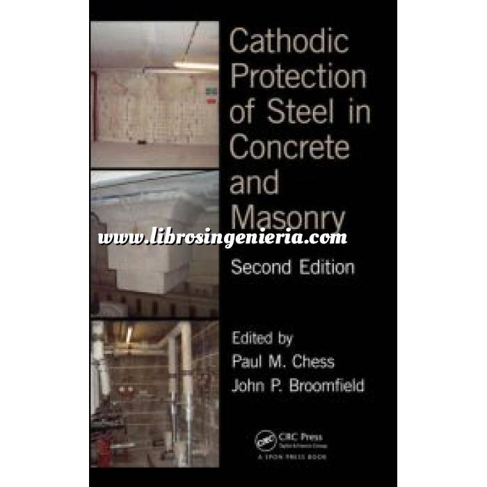 Imagen Patología y rehabilitación Cathodic Protection of Steel in Concrete and Masonry 2º Ed.