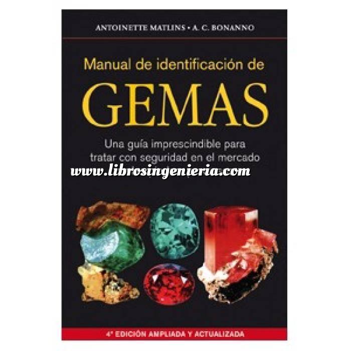 Imagen Piedras preciosas Manual de identificación de gemas.Una guía imprescindible para tratar con seguridad en el mercado de las piedras preciosas