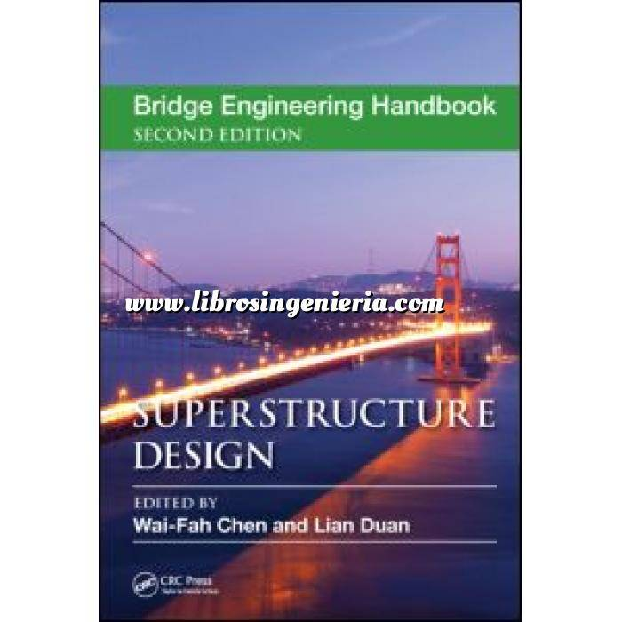 Imagen Puentes y pasarelas Bridge Engineering Handbook. Superstructure Design