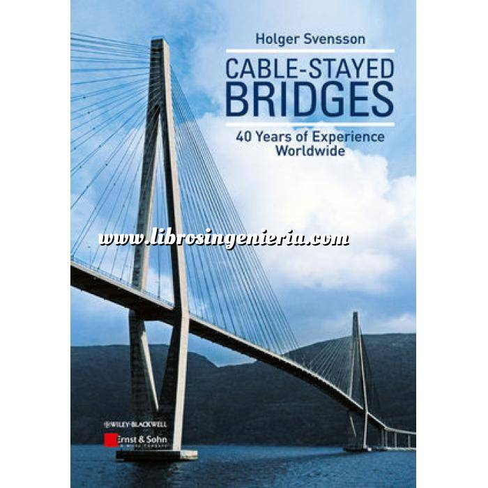 Imagen Puentes y pasarelas Cable-stayed bridges.40 Years of experience worldwide