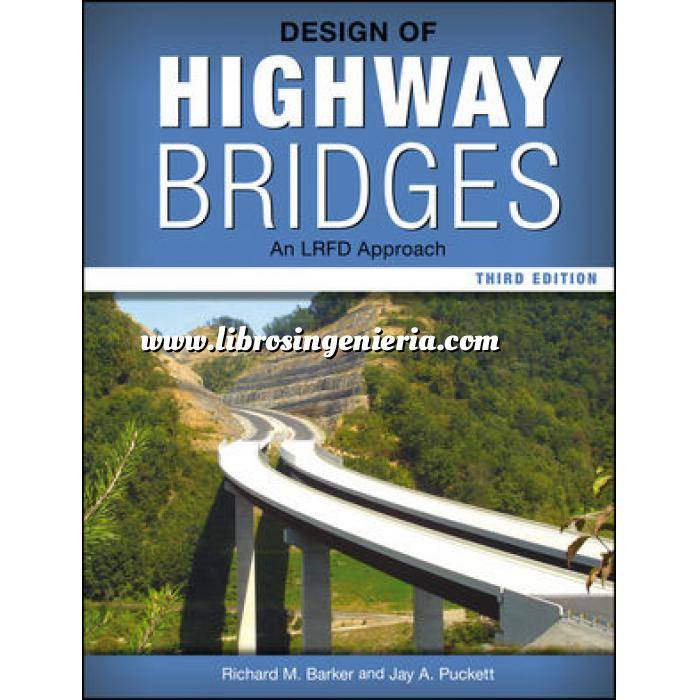 Imagen Puentes y pasarelas Design of Highway Bridges: An LRFD Approach
