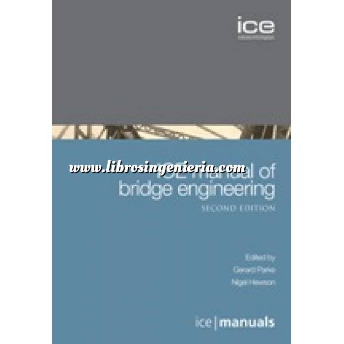 Imagen Puentes y pasarelas ICE Manual of Bridge Engineering