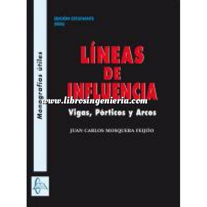 Imagen Puentes y pasarelas LÍíneas de Influencia. Vigas, pórticos y arcos