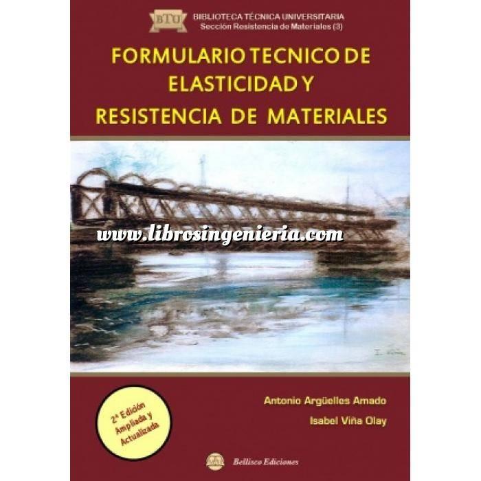Imagen Resistencia de materiales Formulario técnico de elasticidad y resistencia de materiales