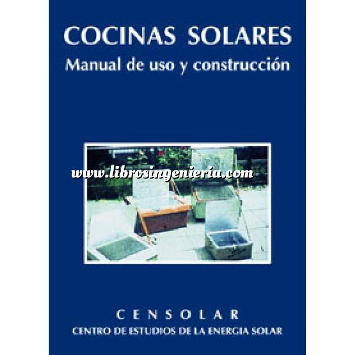 Imagen Solar fotovoltaica Cocinas solares. manual de uso y construcción